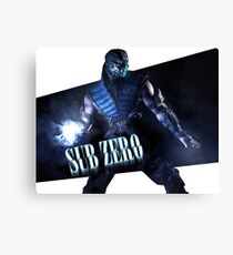 Mortal Kombat - Sub-Zero Canvas Print