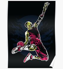 zombie slam dunk Poster