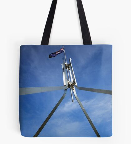 Flagpole at Parliament House - Canberra Tote Bag
