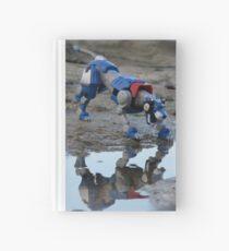 voltron blue lion reflection  Hardcover Journal