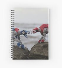 klance voltron lions red and blue Spiral Notebook