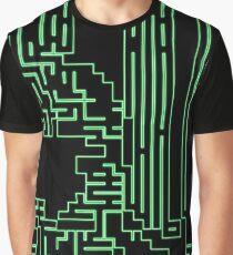 Green circuits Graphic T-Shirt