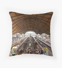 Southern Cross Station Throw Pillow