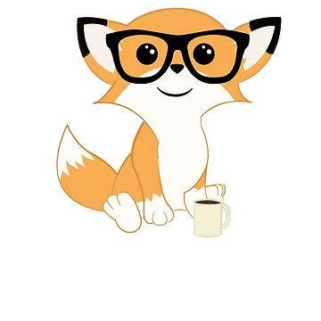 Coffee Fox by ZantheClothing