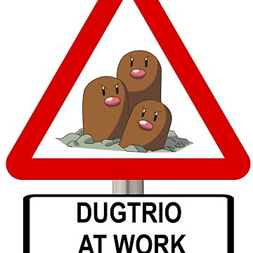 Dugtrio at Work by TJPhotos-Sama