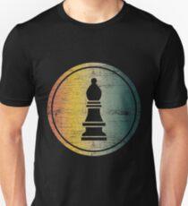 Chess Bishop Chessmen Chessboard Unisex T-Shirt