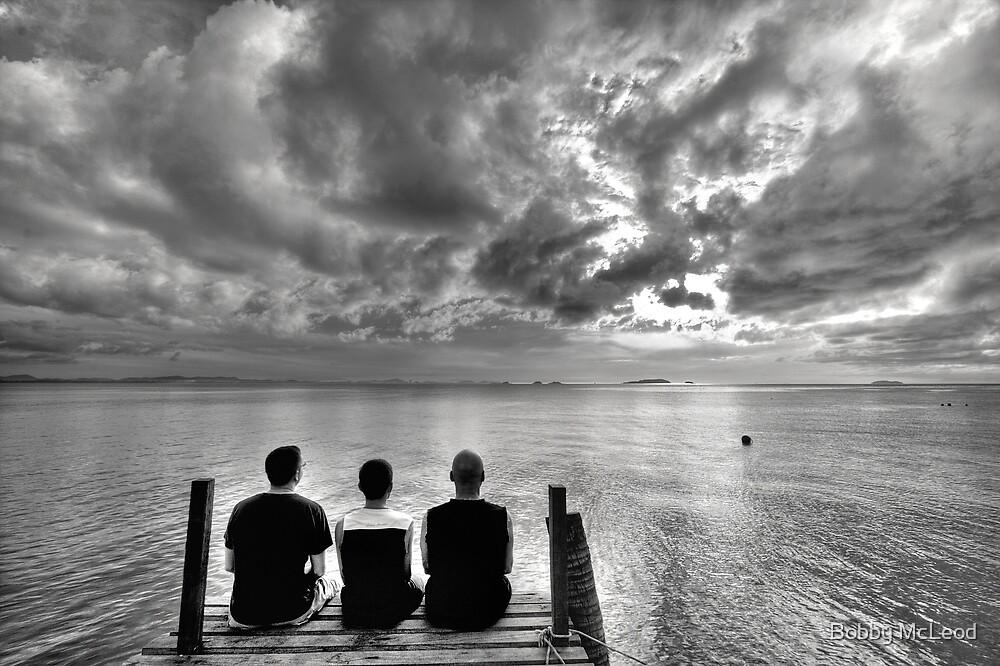 The Three Photographers by Bobby McLeod
