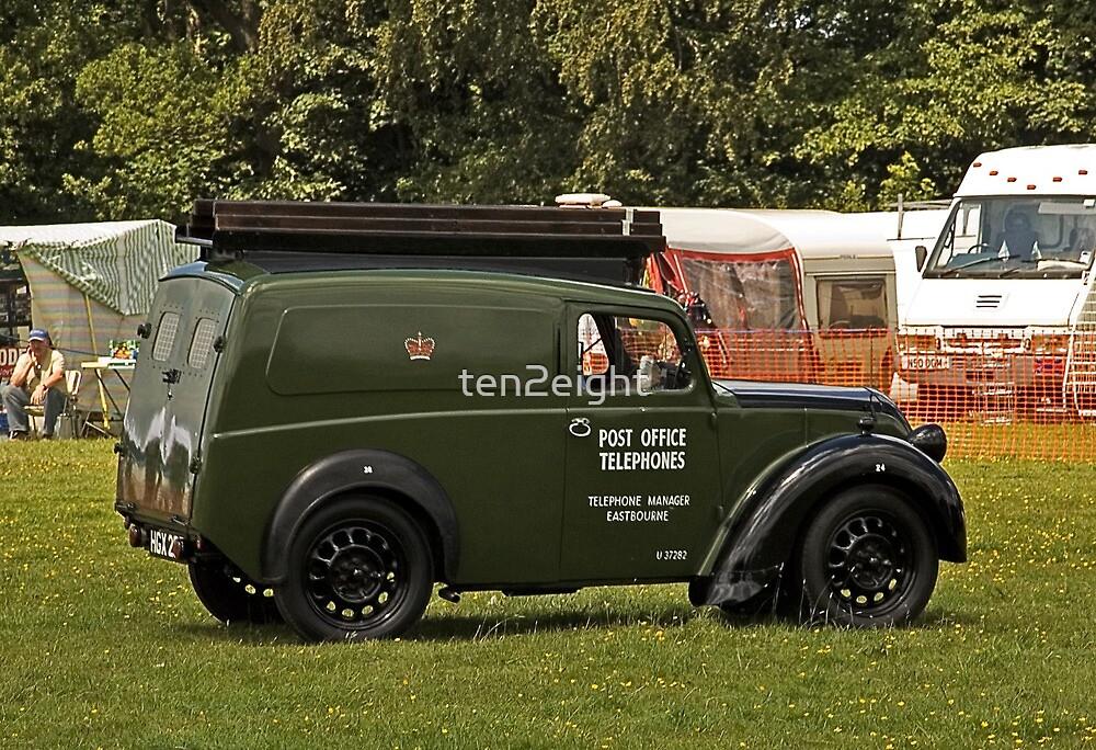 Post Office Telephones Van by ten2eight