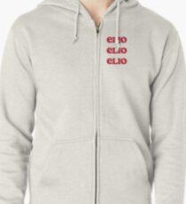 Sudadera con capucha y cremallera Llámame por tu nombre & # 39; Elio Elio Elio & # 39; Tee