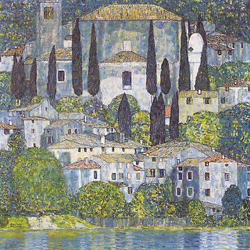 Gustav Klimt - Church in Cassone by NewNomads