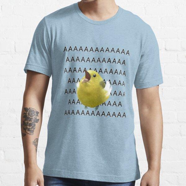 AAAAAAAAAA screaming birb meme Essential T-Shirt