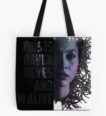 """Raven Reyes: """"I'm Alive"""" Tote Bag"""