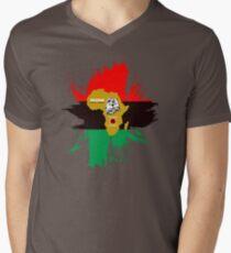 roaring in africa Mens V-Neck T-Shirt