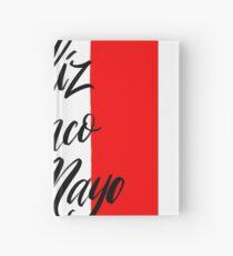 Feliz Cinco De Mayo Invitation  calligraphy. Hand-writing.  Hardcover Journal