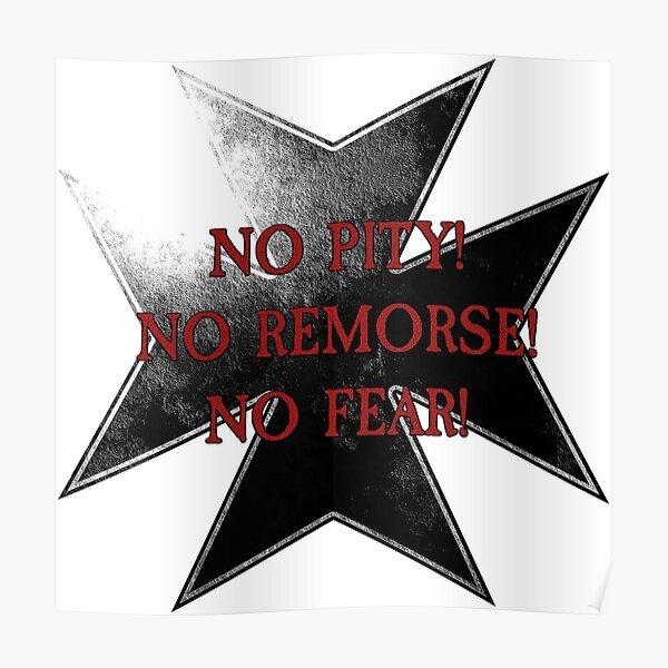 Vœu des Templiers - Pas de pitié! Sans regret! Sans peur! Poster