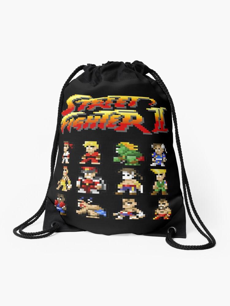 Cordon Personnages À Street 2 Fighter Pixel ArtSac WDH9E2IY