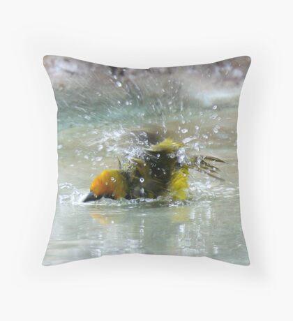Bathtime Throw Pillow