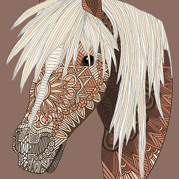 Haflinger Horse by 700level