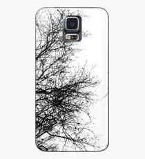 Black and White Trees Case/Skin for Samsung Galaxy