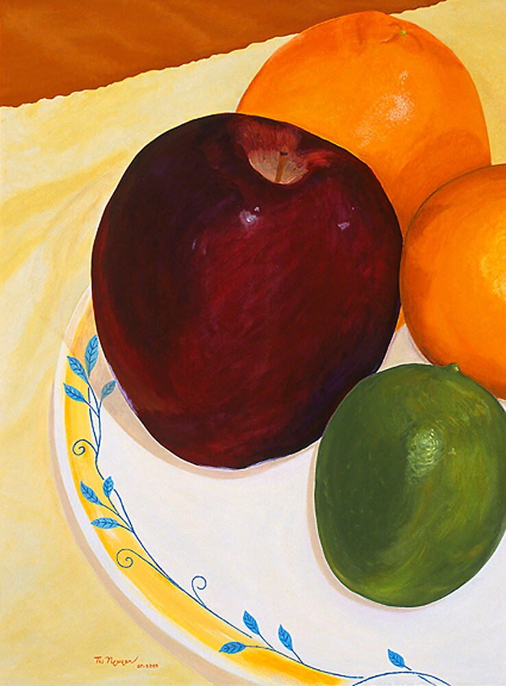 Appes and Oranges by Thi Nguyen