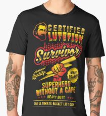 Funny Lutefisk Design Lutefisk Survivor Men's Premium T-Shirt