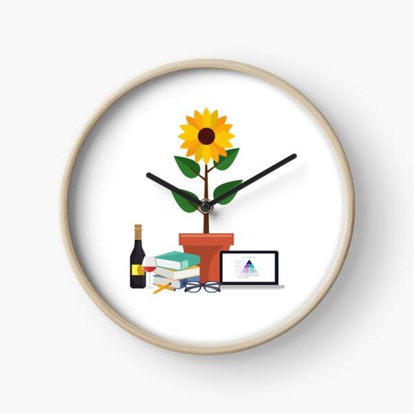 Ladies Be Architects Study Group Logos Clock