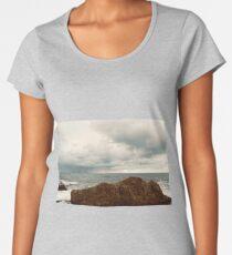 conceptual shore view  Women's Premium T-Shirt