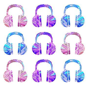 Colorful Headphones by MayaTauber