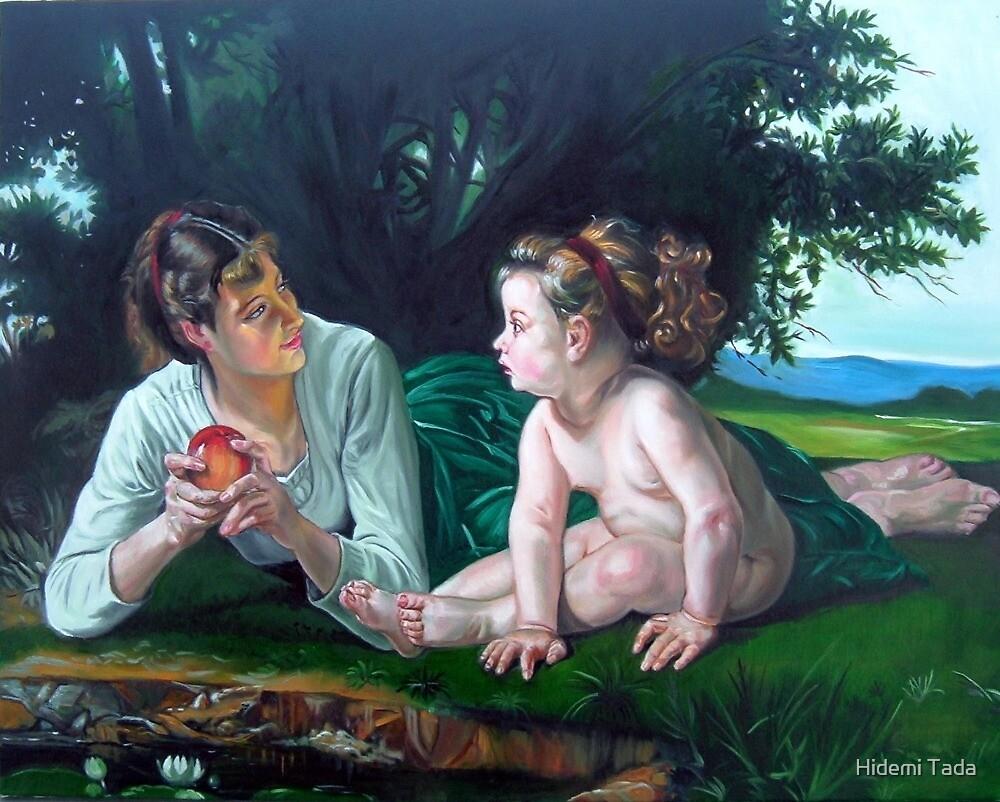 Temptation After W. Bouguereau by Hidemi Tada