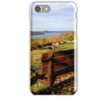 Enfield Overlook ~ at The Quabbin iPhone Case/Skin