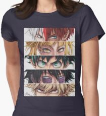 Heroes eyes Fitted T-Shirt