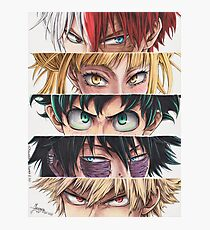 Heroes eyes Photographic Print