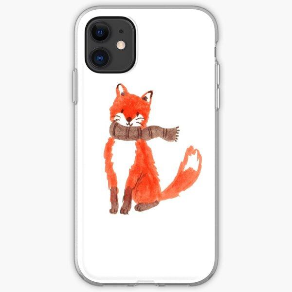 Fox Illustration iPhone Soft Case