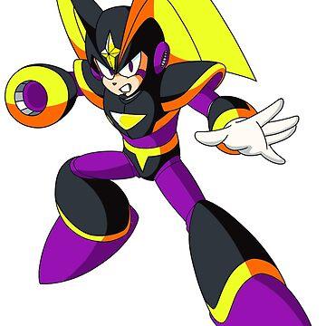 Forte Megaman Rockman Custom by EGOTAKU