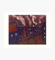 Byker Bridge Art Print
