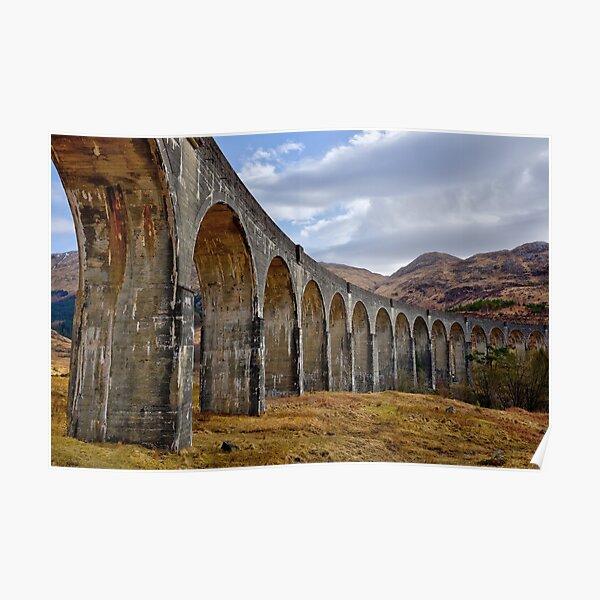 Glenfinnan Viaduct, Scotland Poster