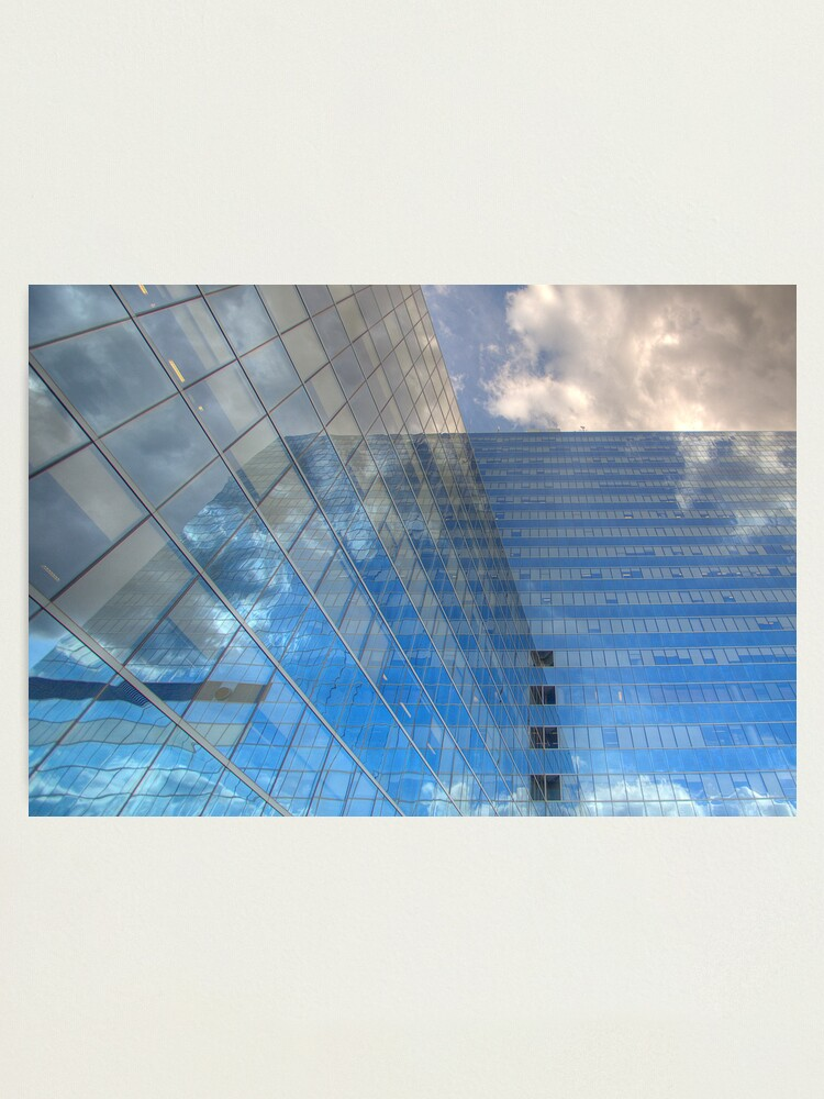 Alternate view of Clouds in Reflection Photographic Print