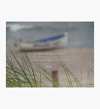 Discover-inspirational Photographic Print