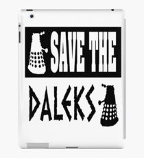 Save the Daleks iPad Case/Skin