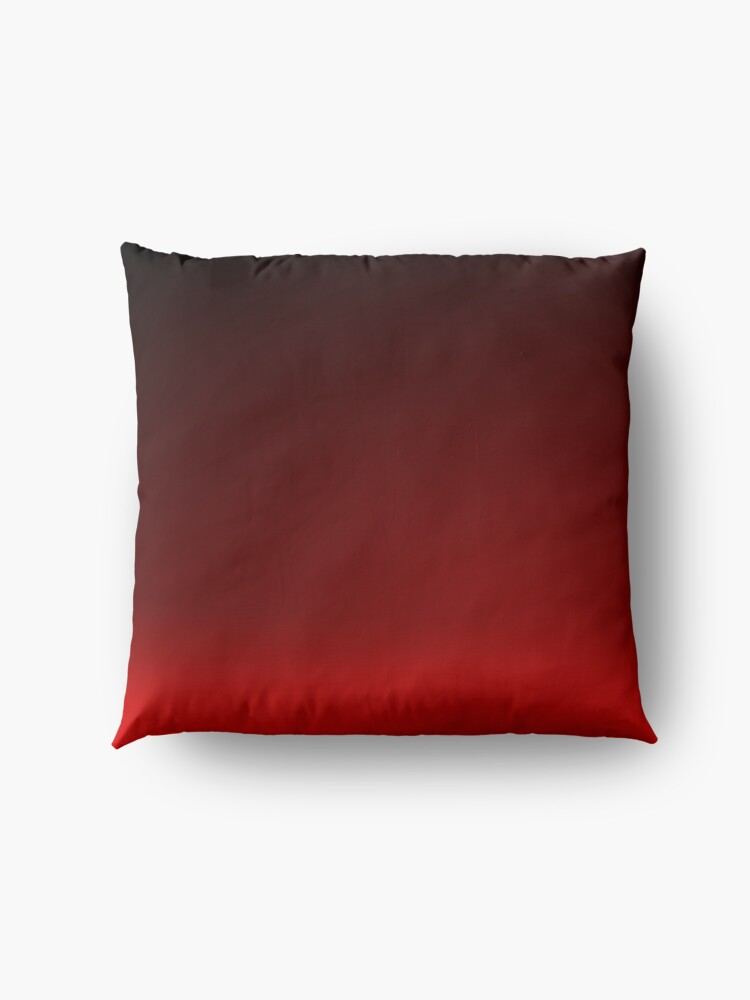 Alternate view of Red Ombre Floor Pillow