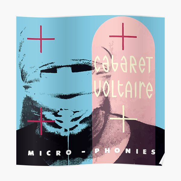 Cabaret Voltaire Micro - Phonies Poster