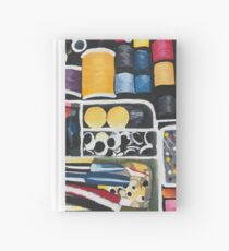 Sewing Kit Painting Hardcover Journal