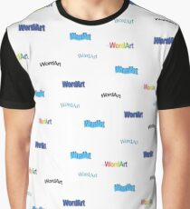 WordArt Lover Grafik T-Shirt