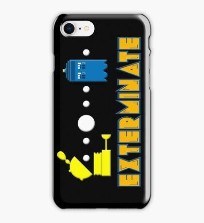 PAC DALEK iPhone Case/Skin