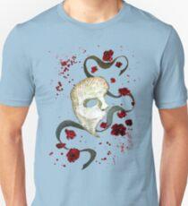 Phantom of the Opera Mask and Roses Unisex T-Shirt