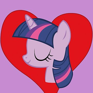 I have a crush on... Twilight Sparkle by Stinkehund