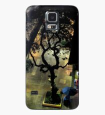 Lonely Tree at Night Case/Skin for Samsung Galaxy