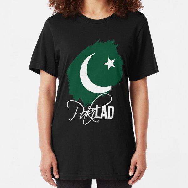 Paki Lad - For Proud Pakistanis Slim Fit T-Shirt