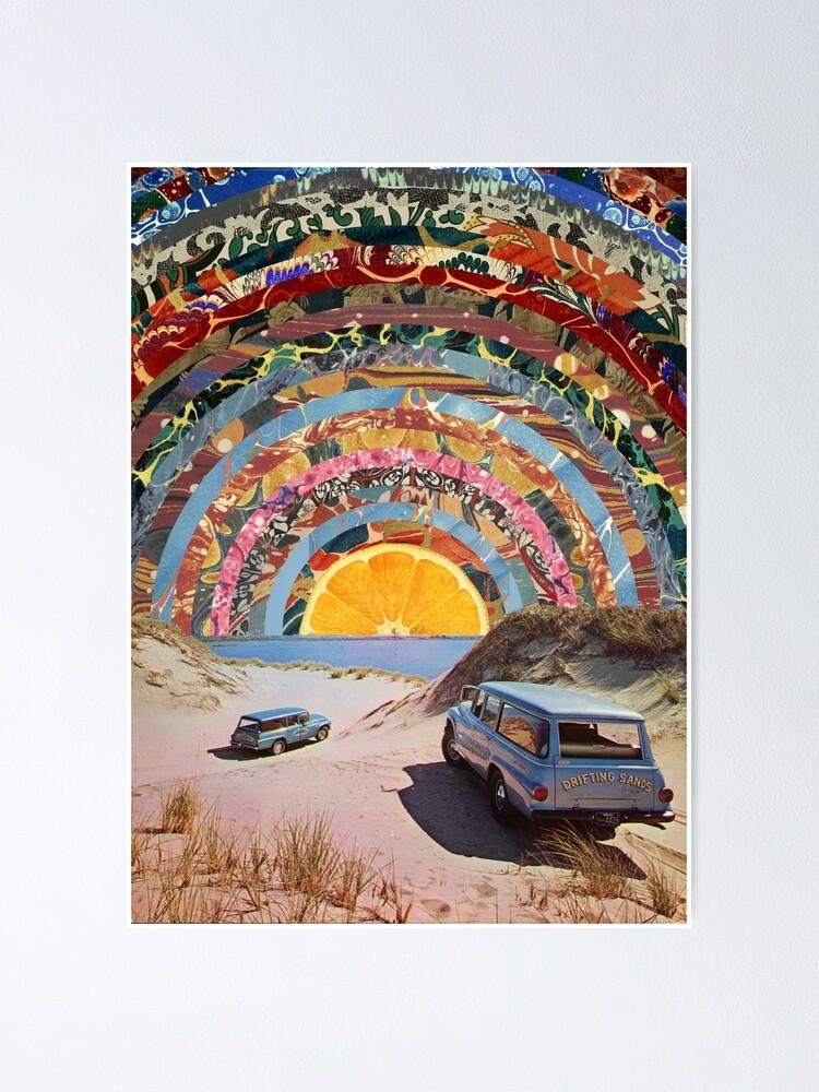 Alternate view of Orange sunset Poster