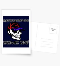 TRENDING T-SHIRTS FOR EVERYONE! UNREADY PLAYER ONE GAME ON! T-SHIRT, Postcards